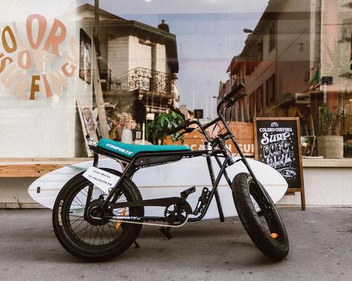 Super73 ZG bike rental in Biarritz