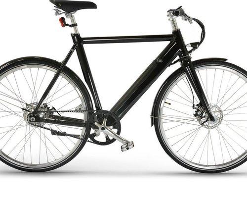 Friday Bikes E-Bike SIMPLY metallic bl bike rental in Leipzig