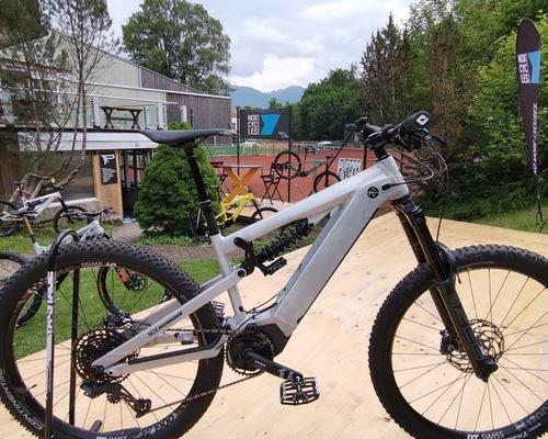 NOX Hybrid Enduro 7.1 bike rental in Bad Wiessee