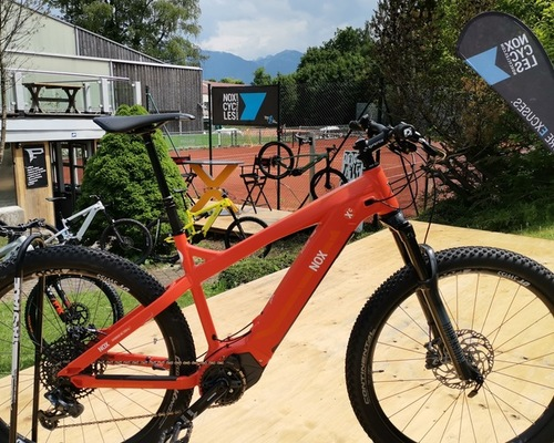 NOX Hybrid XC TRAIL bike rental in Bad Wiessee