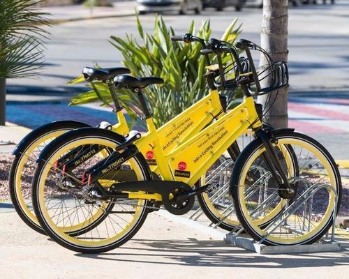 2gobike city bike rental in Xàbia