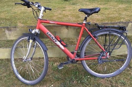 Crazy Horse Du & unser Crazy Horse bike rental in Rostock