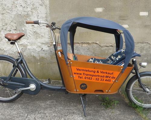 Babboe City - Nexus 7 bike rental in Rostock