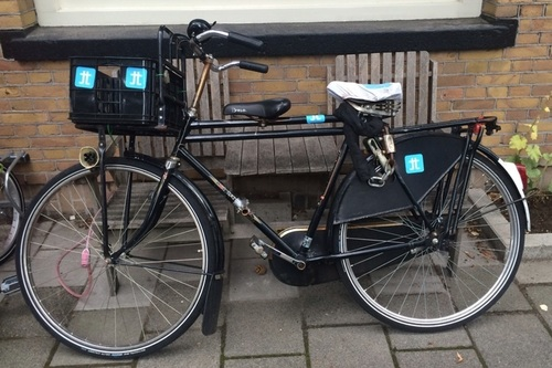 Gazelle Herenfiets  fietsverhuur Amsterdam