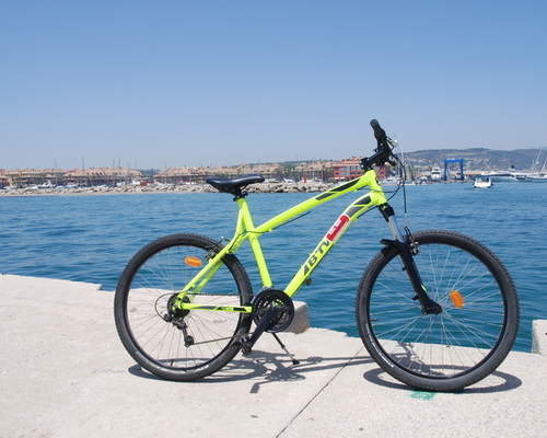 Alquiler de bicicletas B'TWIN  Rockrider 520 en Cádiz