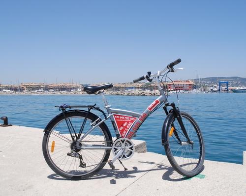 Alquiler de bicicletas B'WIN Original 500 en Cádiz