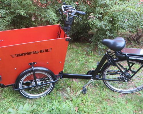 Babboe Dog Elektro - Dreirad  bike rental in Rostock