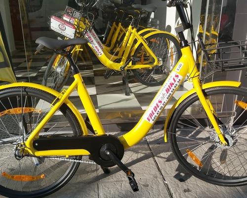 Alquiler de bicicletas Wolfibike Urban bike en Rota