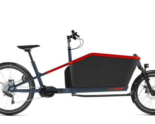 Cube Cargo Sport Dual Hybrid bike rental in Freiburg im Breisgau