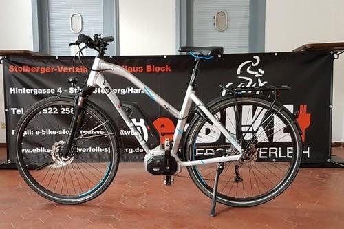 Husqvarna Gran Tourer bike rental in Südharz