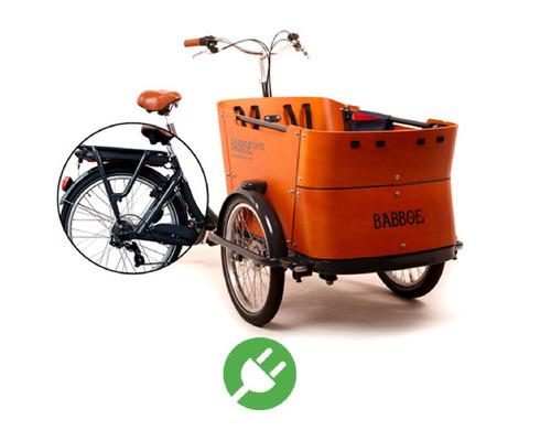 Babboe  Family bike rental in Barcelona