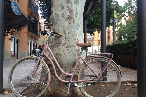 Kalkhoff Durban ladies fietsverhuur Palma