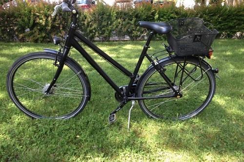 Campus Campus Damen schwarz bike rental in Bonn