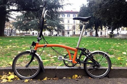 Noleggio Brompton Folding bike a Firenze